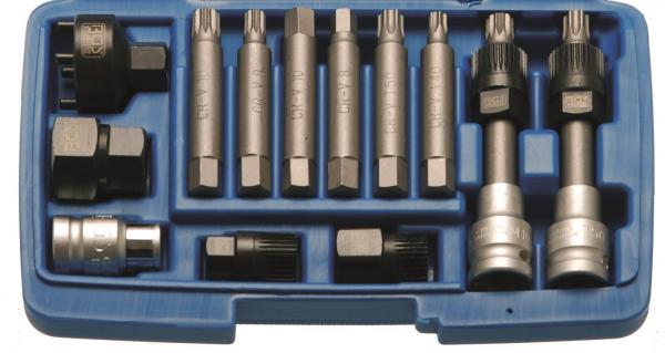   Innensechskant 10 mm Innenvierkant 12,5 mm Bit-Adapter mit Haltekugel 3//8 1//2 BGS 290